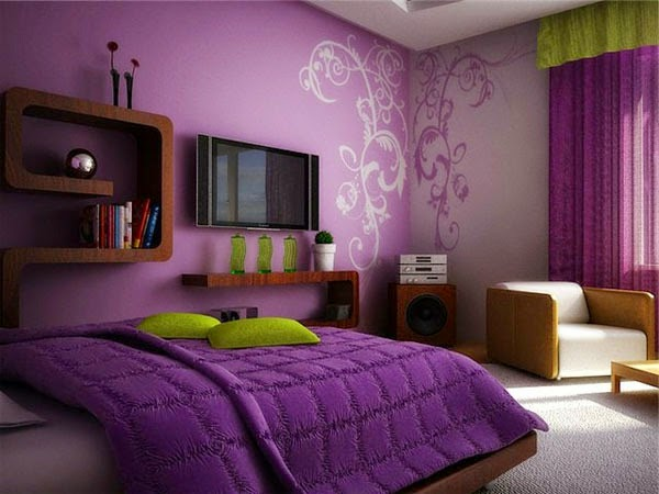 living room dining kitchen color schemes how to paint your purple wall paint: the variants | homesfeed