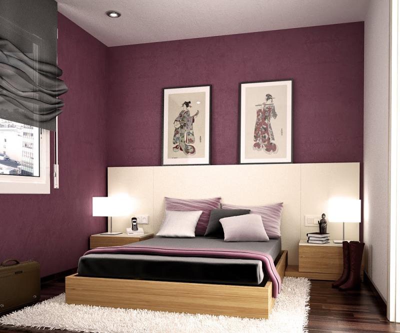 Modern Bedroom Design Paint Novocom Top