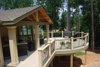 Covered Deck Designs | HomesFeed