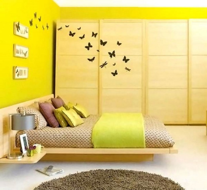 Yellow Paint For Bedroom Walls   Savae.org
