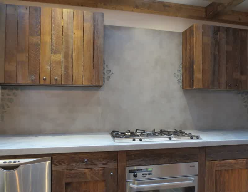 different types of kitchen countertops pink concrete backsplash ideas for kitchens | homesfeed