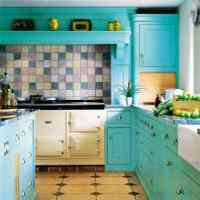 Turquoise Kitchen Cabinets for Any Kitchen Styles | HomesFeed