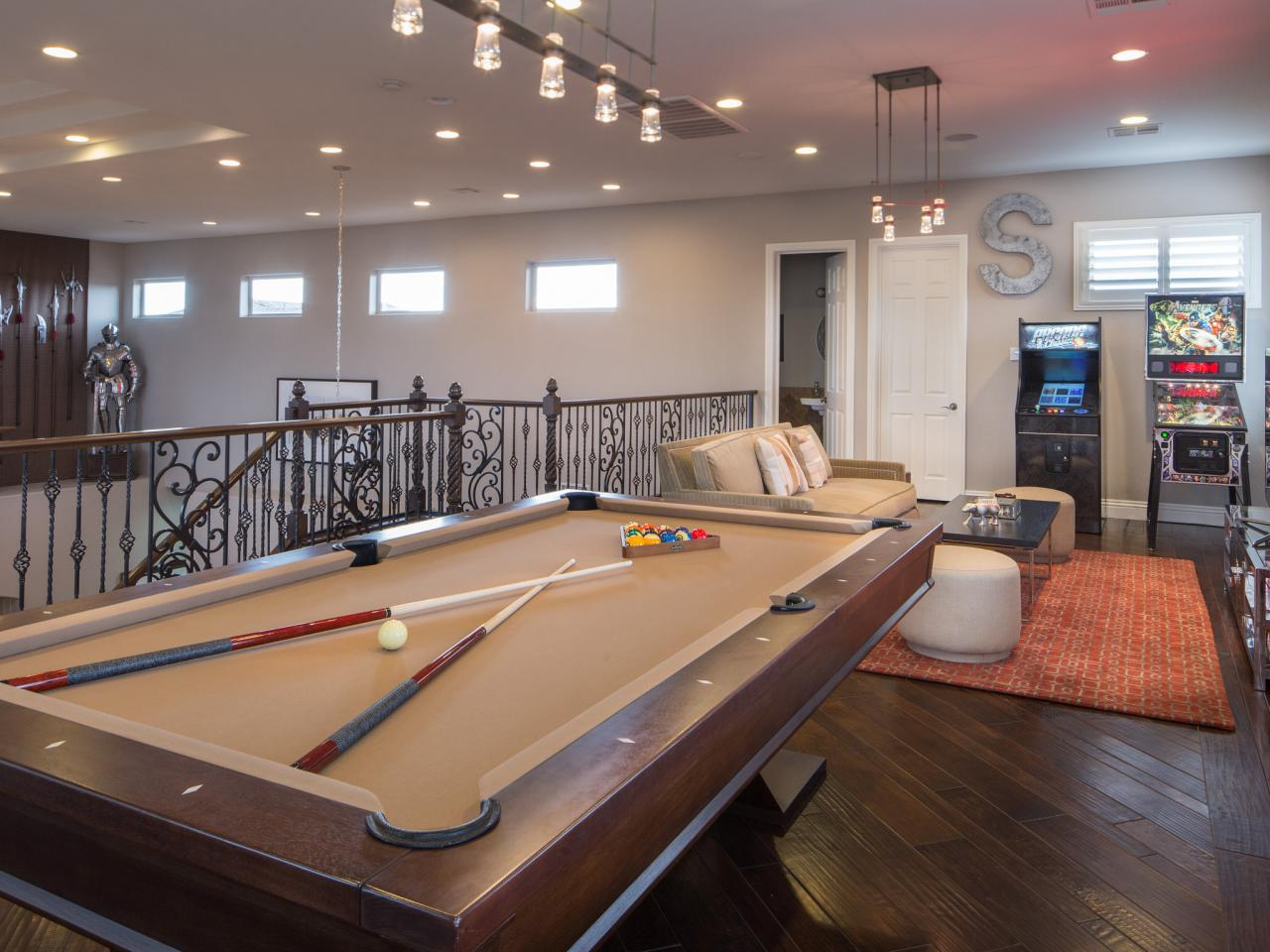 If you have a game room or recreation area in your home, it's important to have good lighting. A Game Room for Adult That Will Make Your Leisure Time ...