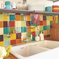 Colorful Backsplash Tiles for Kitchens   HomesFeed