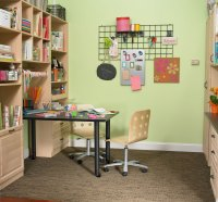 Home Office Craft Room Design Ideas | HomesFeed