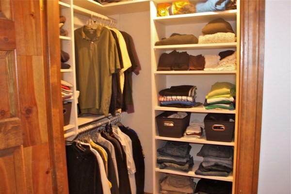 Small Walk-In Closet Design Ideas