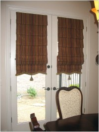Curtain Treatment Ideas For Glass Front Doors | Curtain ...