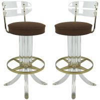 Lucite Counter Stools For Brand New Kitchen Decoration and ...