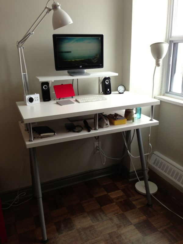 standing desk chair folding padded chairs make your own to create high comfort working nuance | homesfeed