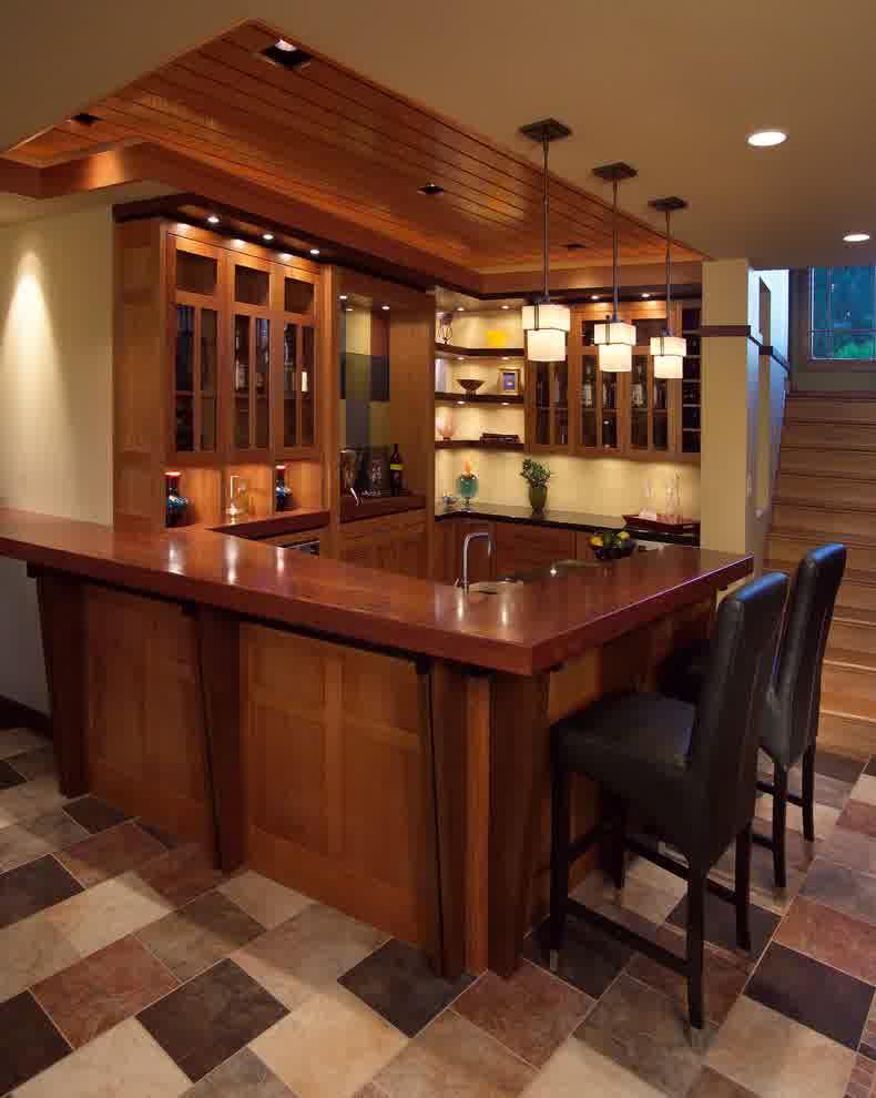 Small Basement Bar Ideas  HomesFeed