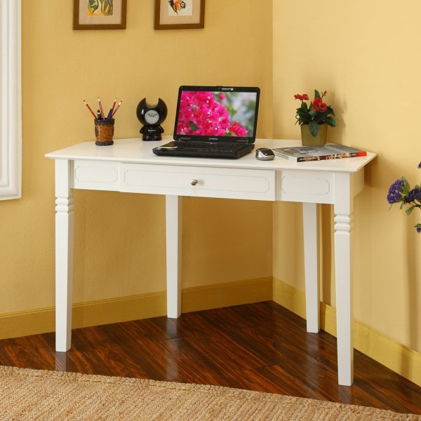Small Bedroom with Corner Computer Desk