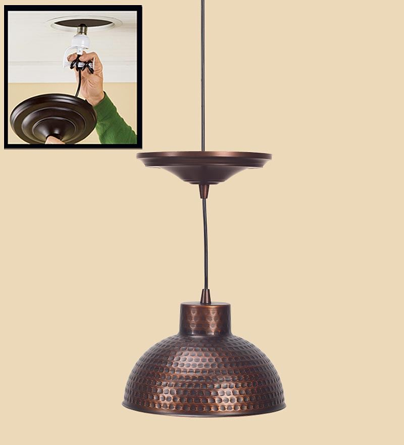 Convert Recessed To Pendant Light