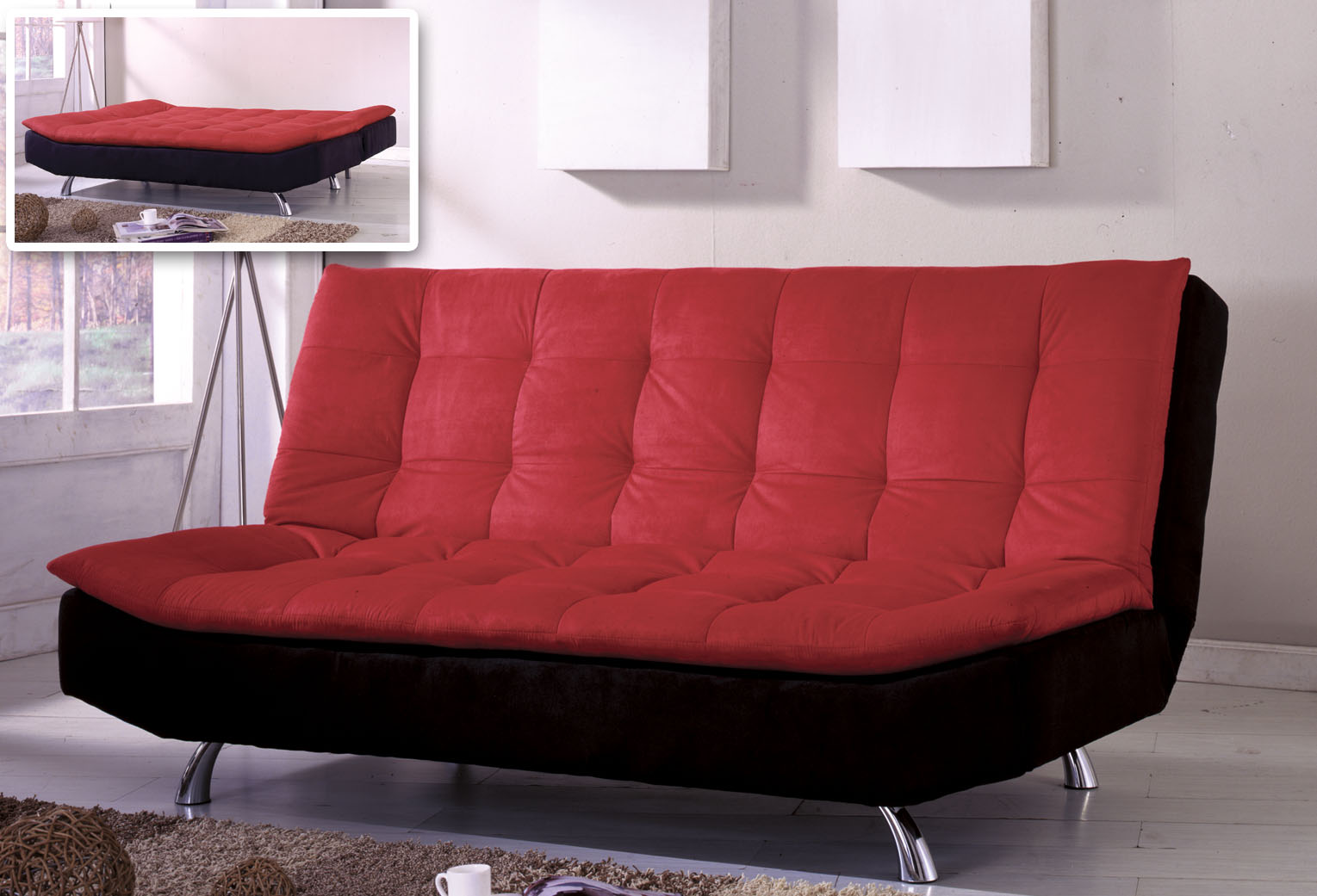 sofa into bed best steam cleaner for minimize your interior with couch that turn