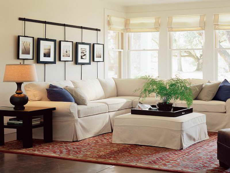 pottery barn living room design ideas how to stage a sofa which will make your extremely white sectional reviews creative frames on wall decoration and wooden end tables with