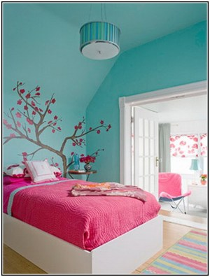 combinations bedrooms bedroom paint pink wall colors bed deep multi pattern wood homesfeed