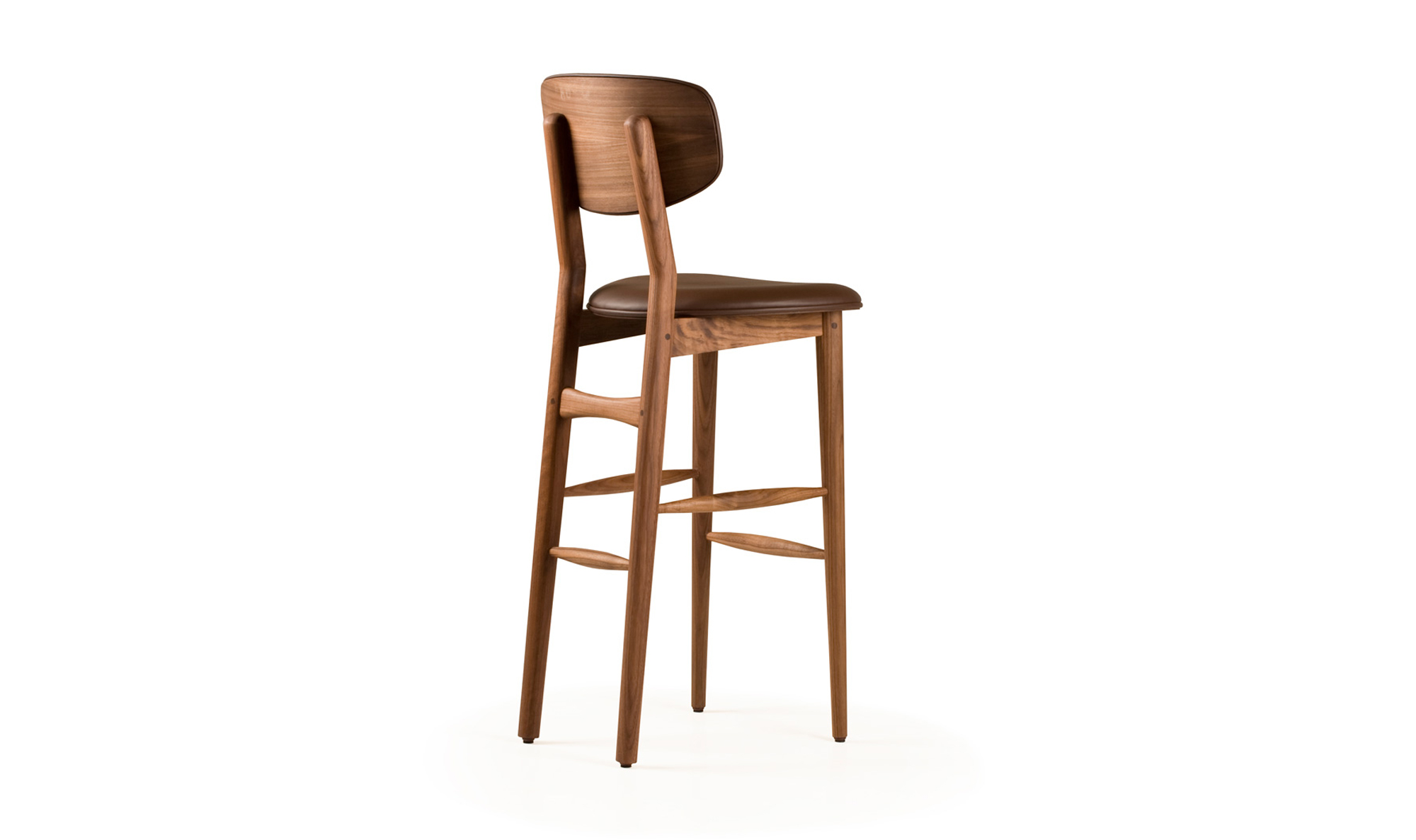Upholstered Bar Stools with Backs