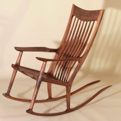 Wood Rocking Chair Styles Office Joystick Mount Mission Style History And Designs Homesfeed