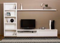 Ikea White TV Stand: Sweet Couple for Minimalism   HomesFeed