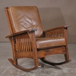 Craftsman Rocking Chair Styles Wicker Parsons Chairs Mission Style Chair: History And Designs | Homesfeed