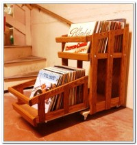 Record Storage Ideas | HomesFeed