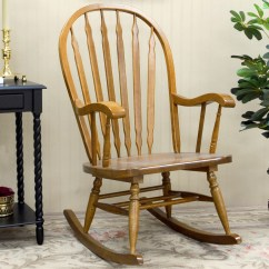 Wood Rocking Chair Styles French Mission Style History And Designs Homesfeed Simple Elegant Made Of For Indoor
