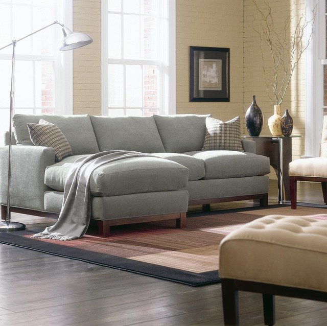 dark grey sectional sofa with chaise outdoor bed canada types of best small couches for living ...