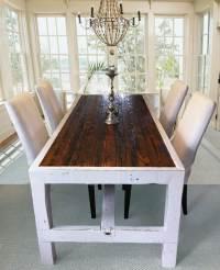Narrow Dining Tables