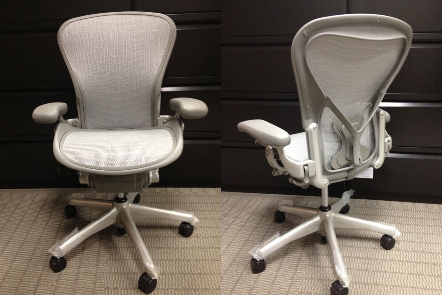 white aeron chair morris recliner herman miller parts give awesome look for office with adorable dull idea curved backrest and short armrest
