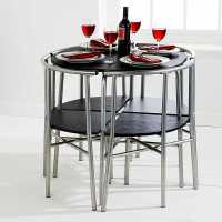 Space Saver Dining Set to Create Accessible Dining Space ...