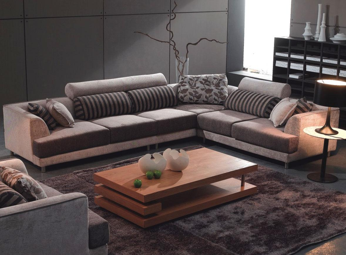 best sectional sofas for the money crescent sofa camerich that will stun you homesfeed in grey scheme with impressive striped cushion and wooden coffee