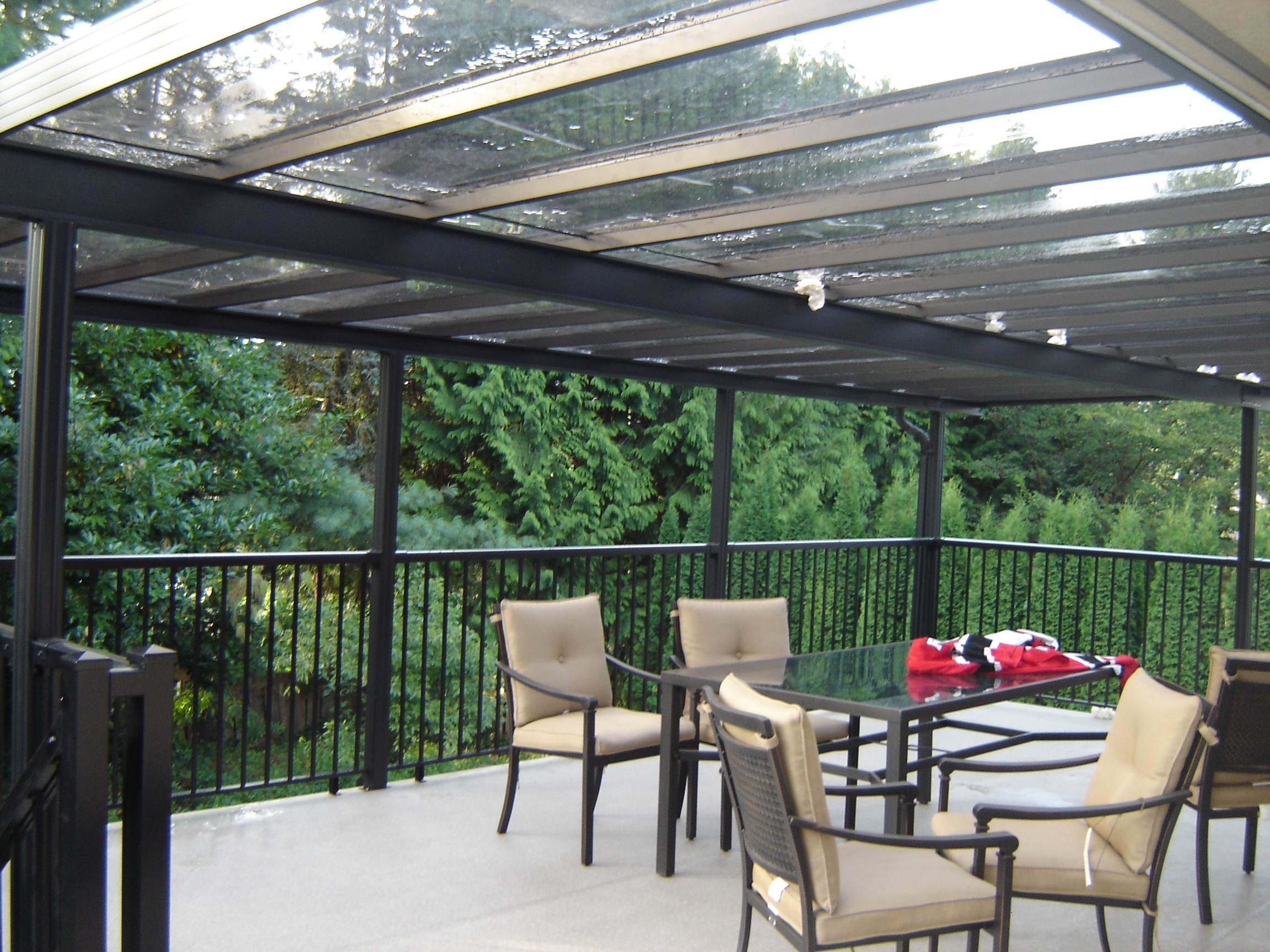 Plexiglass Patio Roof