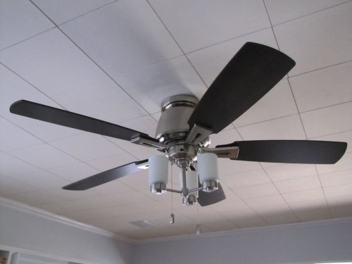 small resolution of ceiling light fan grey steel white
