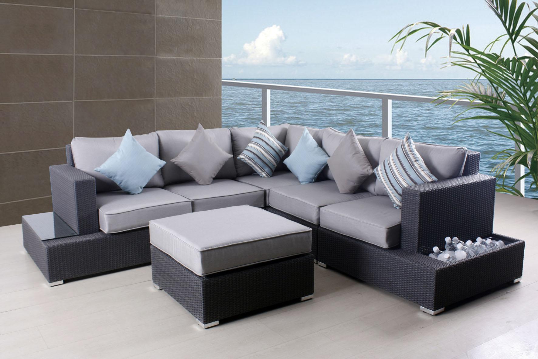 grey patio chair covers tufted desk australia kids outdoor furniture costco home decor