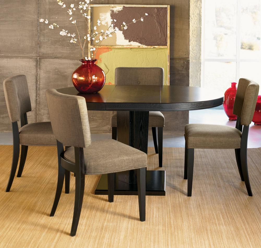 Small Oval Dining Table Help for Small Dining Space
