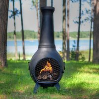 Lit Your Outdoor Space Nuance with Chiminea Fire Pit for ...