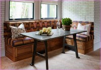 Corner Breakfast Nook Furniture Displays Hot Place to ...