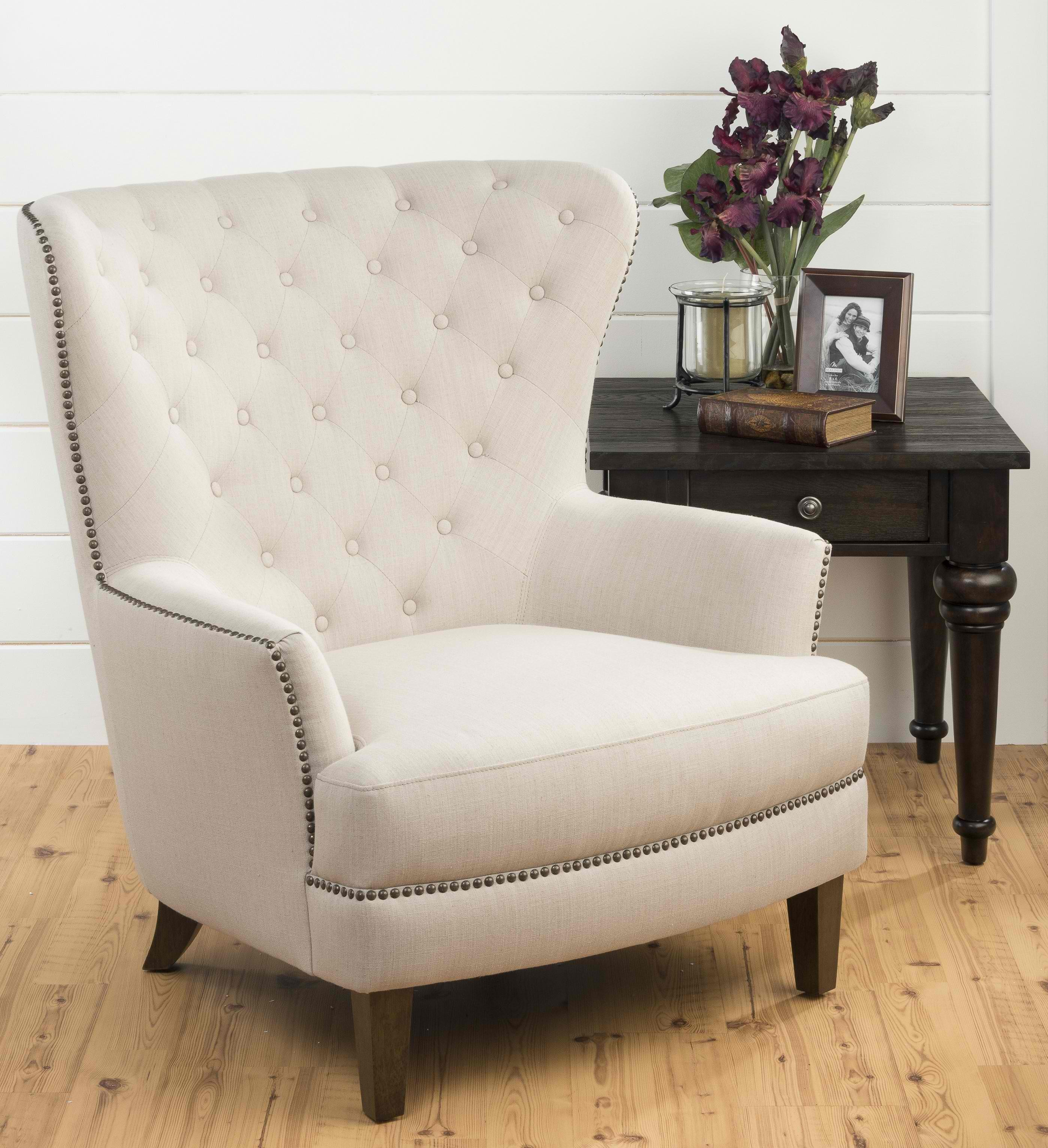 oversized arm chair bar chairs bunnings accent  gives luxurious touch homesfeed