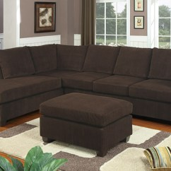 Chocolate Brown Leather Sectional Sofa With 2 Storage Ottomans Cortez Premium Top Grain Gray Reclining Admirable Piece Sofas Chaise Flooding