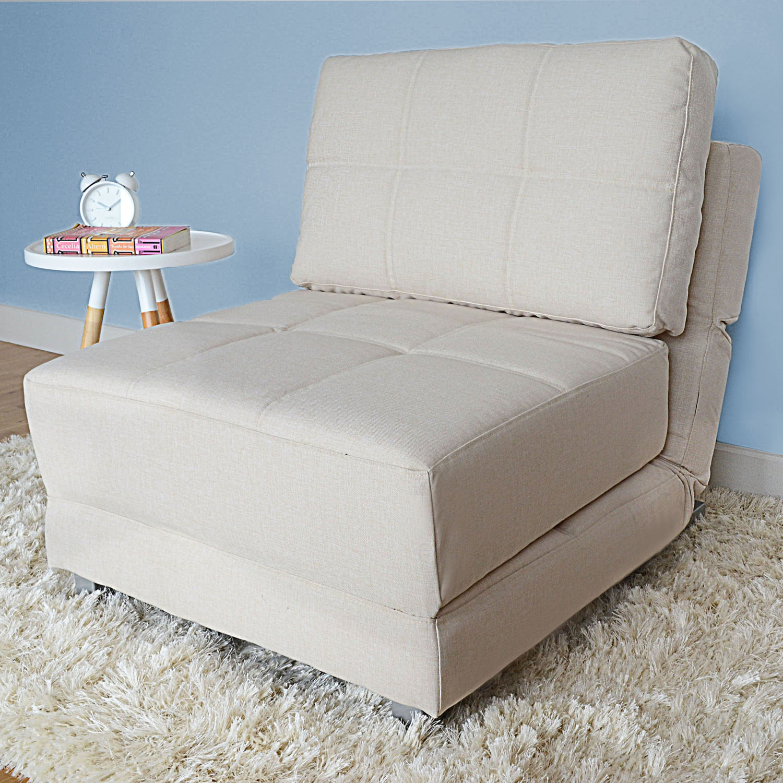 sleeper chair orange rocking cushions single chairs showcasing a cozy and enjoyable