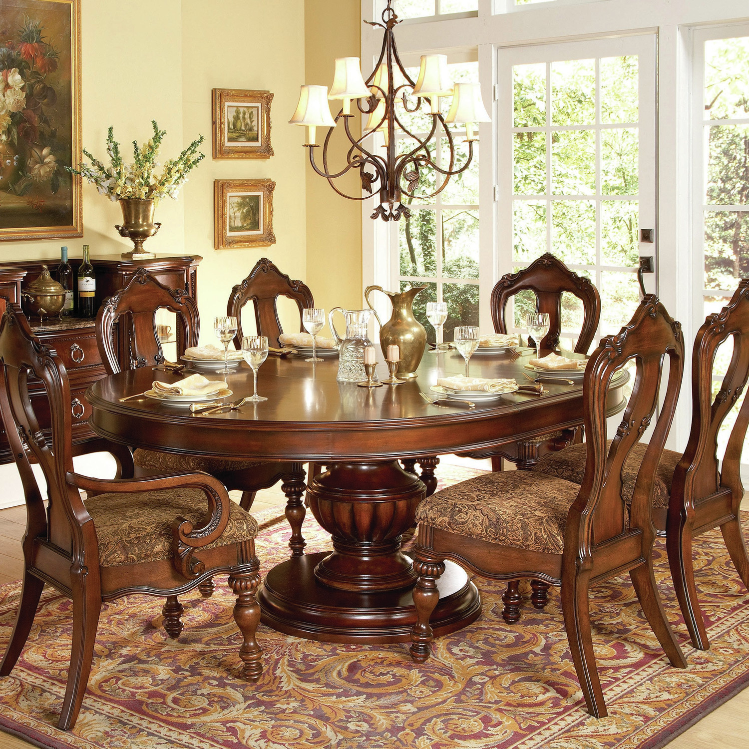 Round Dining Room Table For