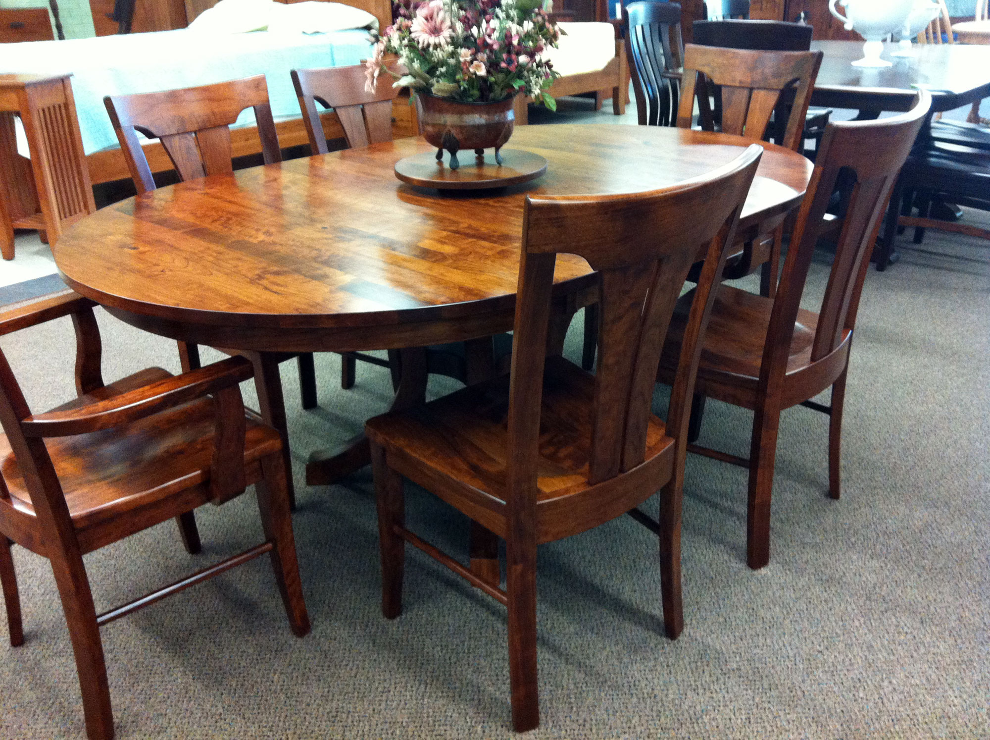 Sturdy Dining Room Chairs Getting A Round Dining Room Table For 6 By Your Own Homesfeed