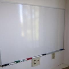 Kitchen Whiteboard Red Clock Glass Dry Erase Board Ikea Homesfeed
