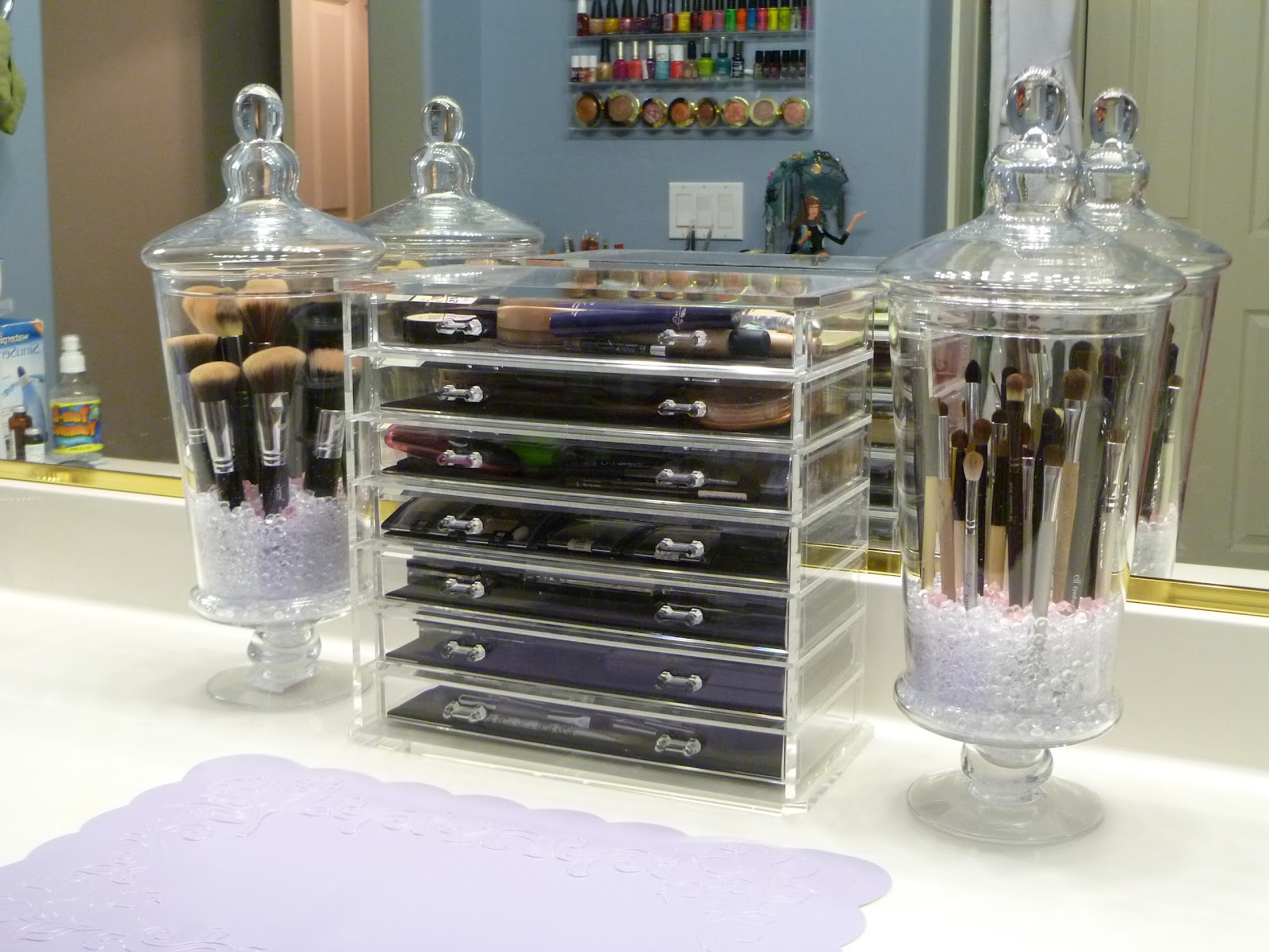 Diy Makeup Organizing Ideas For Simple But Stylish