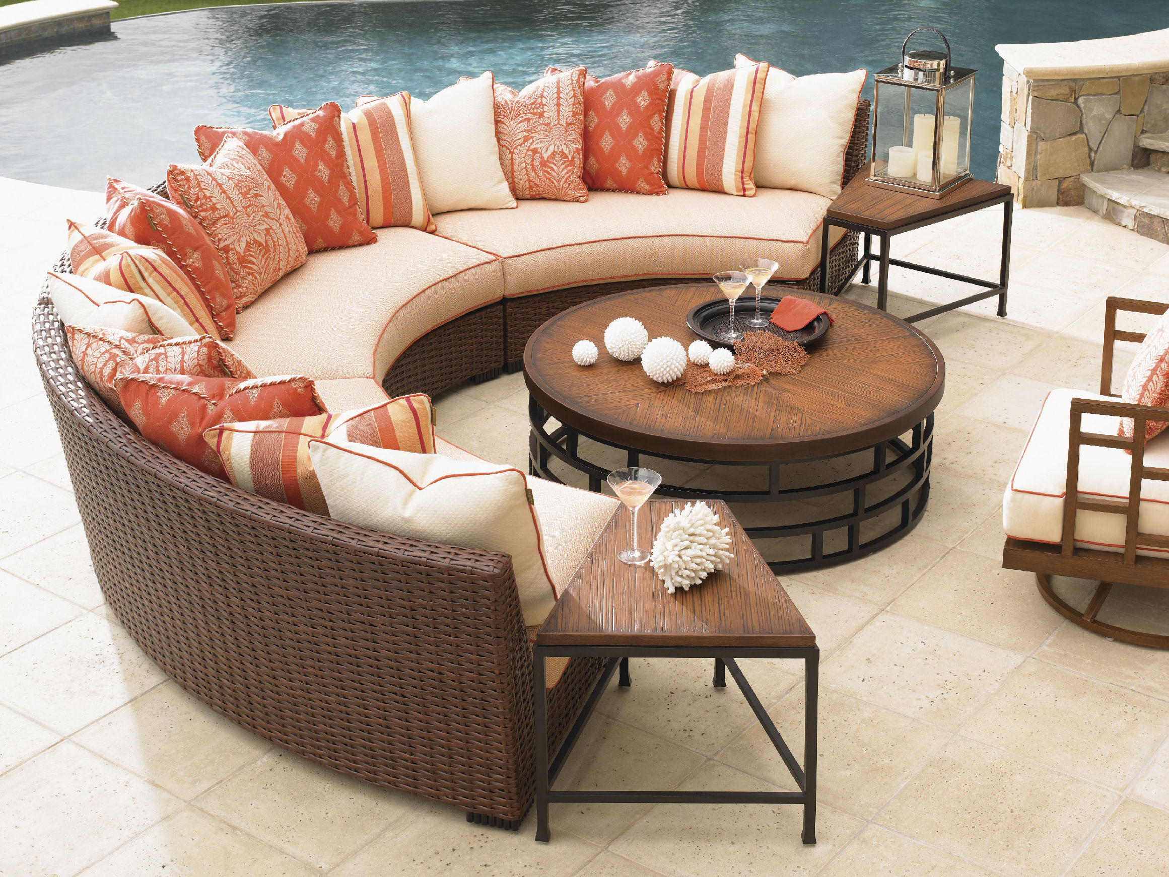 round patio chair dorado office easy tips for thomasville outdoor furniture purchase