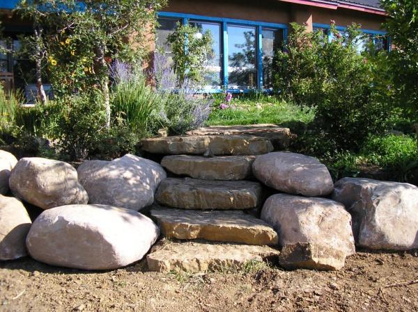 boulders large landscape rocks