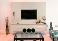 Flat Screen TV Wall Cabinets Offering Space