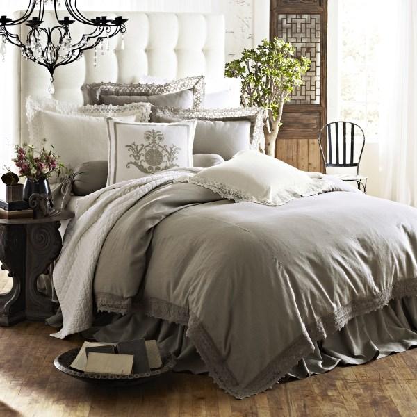 Linen Comforter Bedding Sets