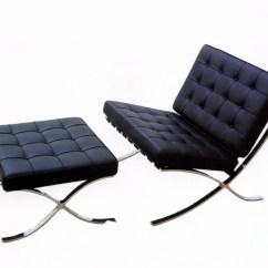 Barcelona Chairs Modern Kitchen Chair Dimensions Homesfeed