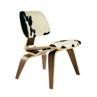 Have a Cow Print Chair for Interior with Sweet Milky ...