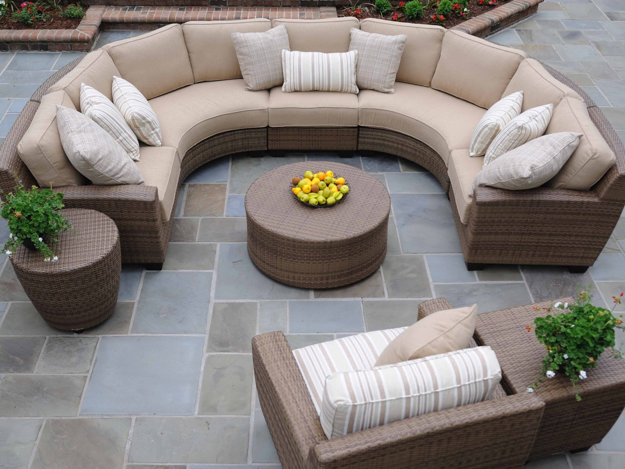 three sixty round sofa lounger klaussner posen guides on huge sectional purchase homesfeed